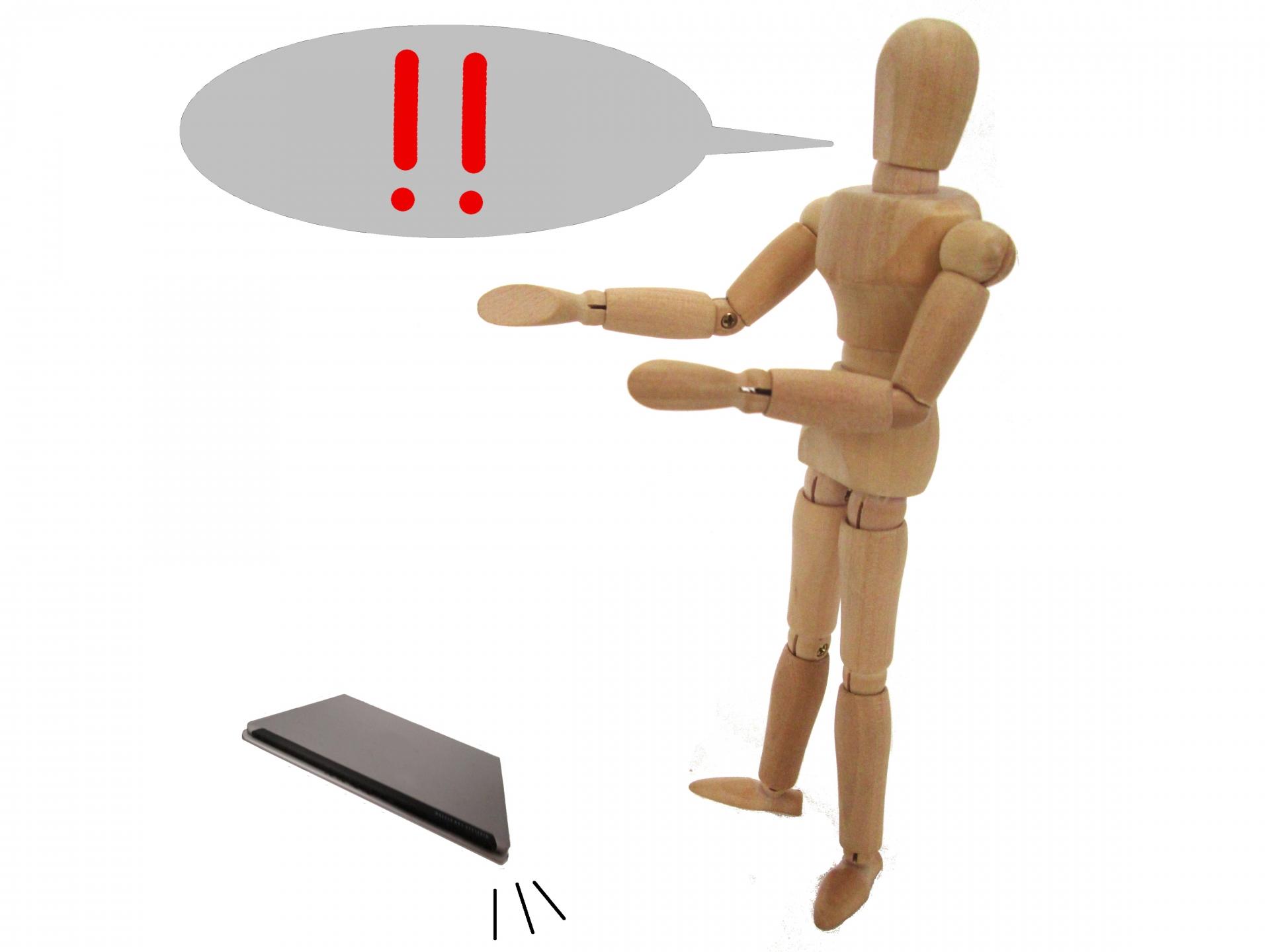 パソコンを落としたときの対処法は?チェック方法や起動しない・電源が入らない原因も解説!