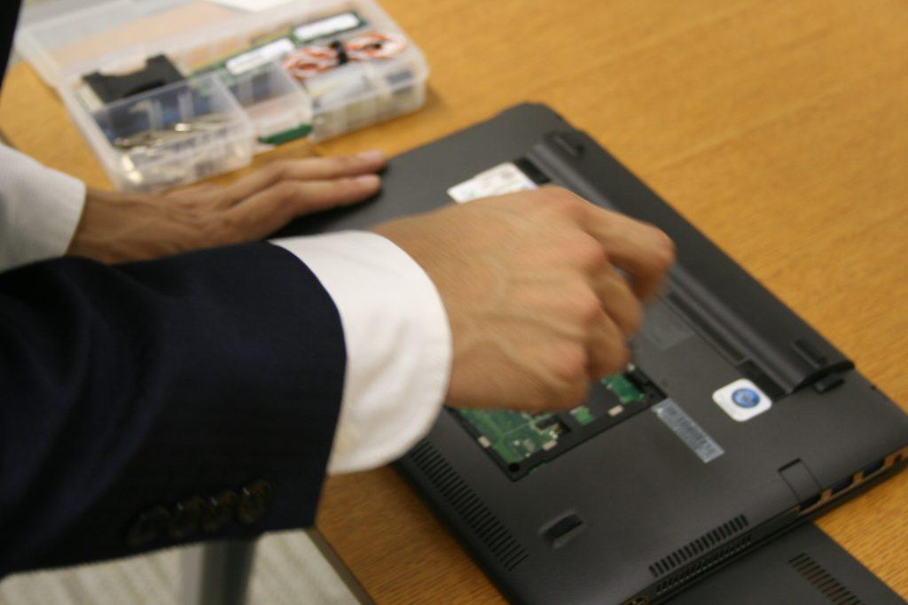 パソコンの持ち込み修理の流れ-5