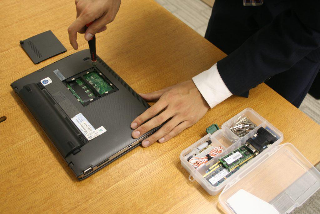 パソコンの持ち込み修理の流れ-4