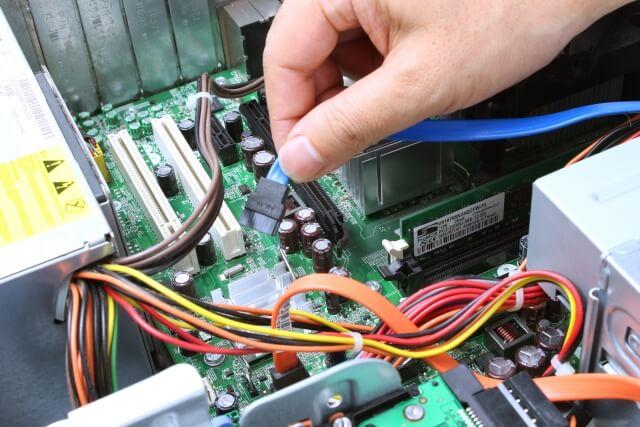 パソコンLCC便の修理の流れ