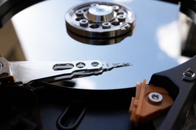 ハードディスクの不具合