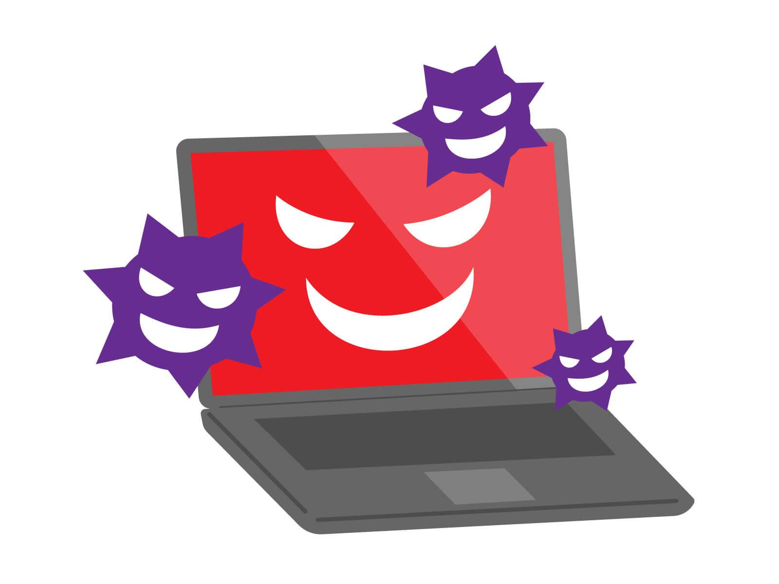 パソコンにウイルスを侵入させる目的