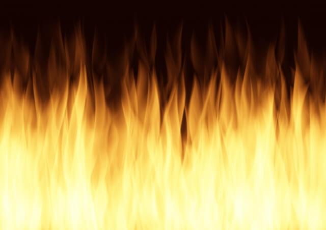 発熱による発火