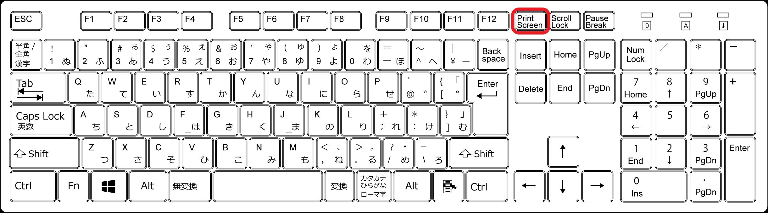 パソコンでのスクリーンショットの撮り方【Windows10版】-1