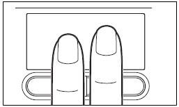 パソコンのタッチパッドでスクロールする方法-2