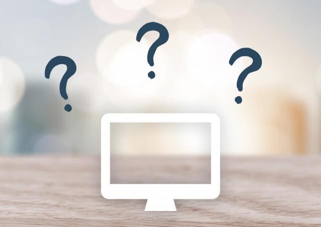 パソコンの黒い画面の現象と起動しない原因