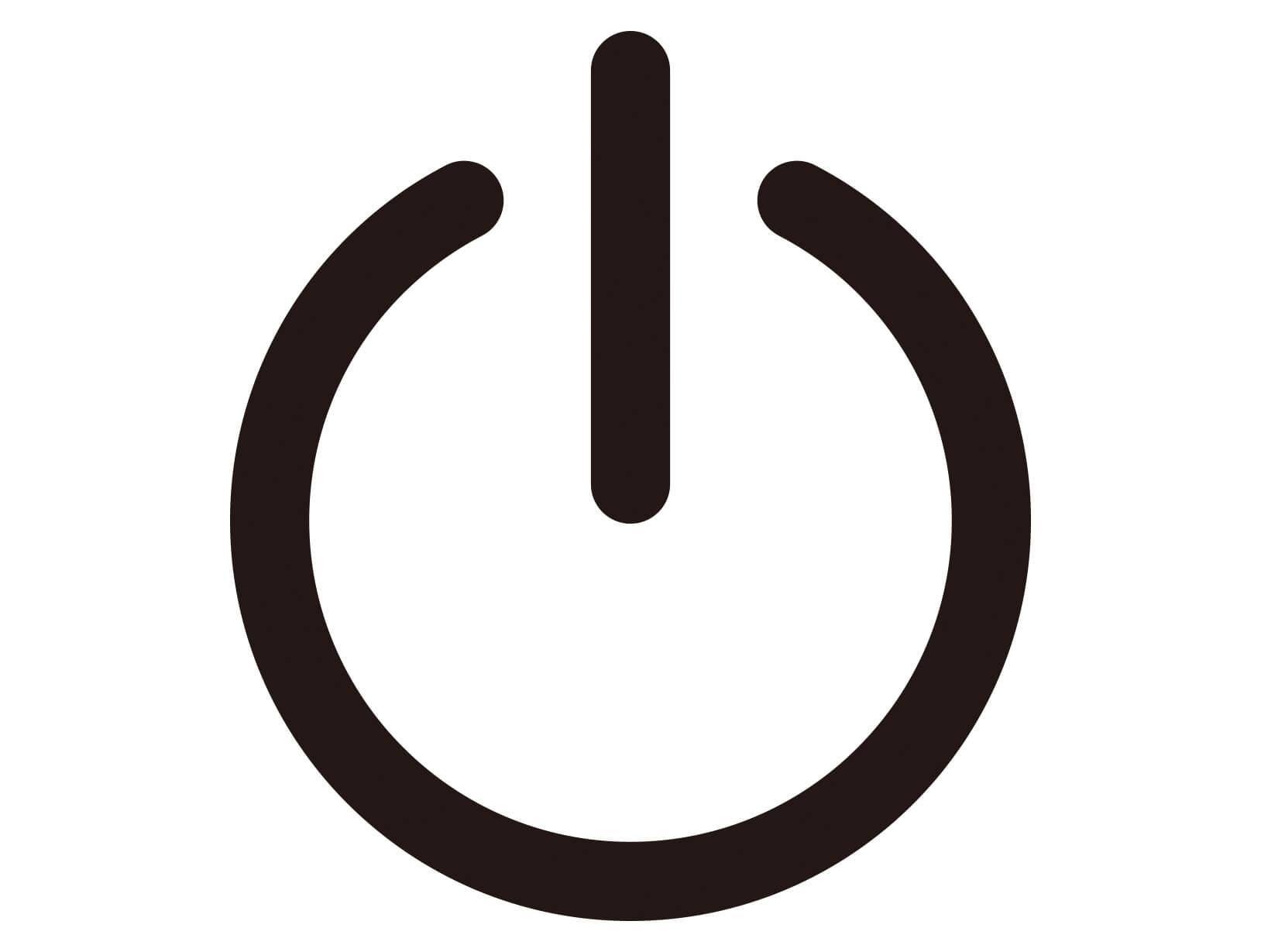 パソコンの電源を入れる方法・手順