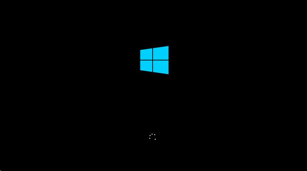 メーカーまたはWindowsのロゴから先に進まない