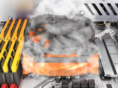 パソコンの熱暴走