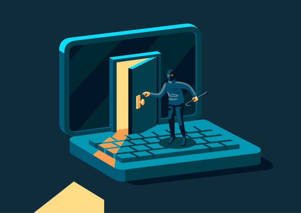 パソコン内のデータが盗まれる