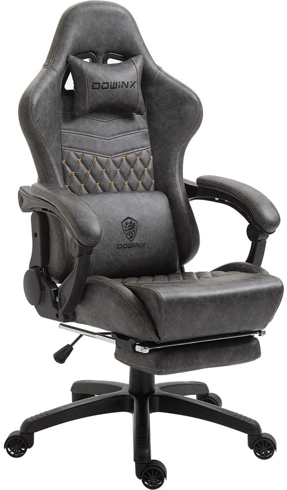 【Dowinx】腰の振動機能付きオフィスチェア
