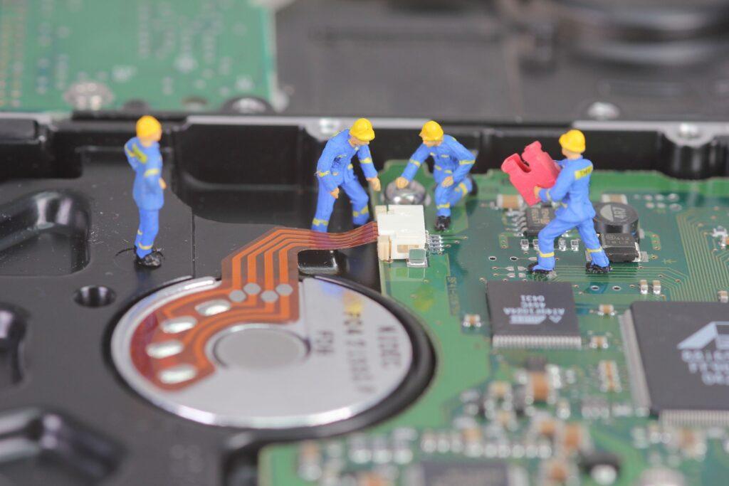 液晶パネルの修理方法