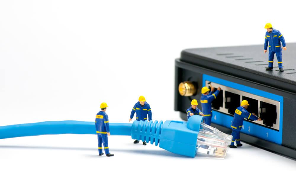 インターネット回線を整備する