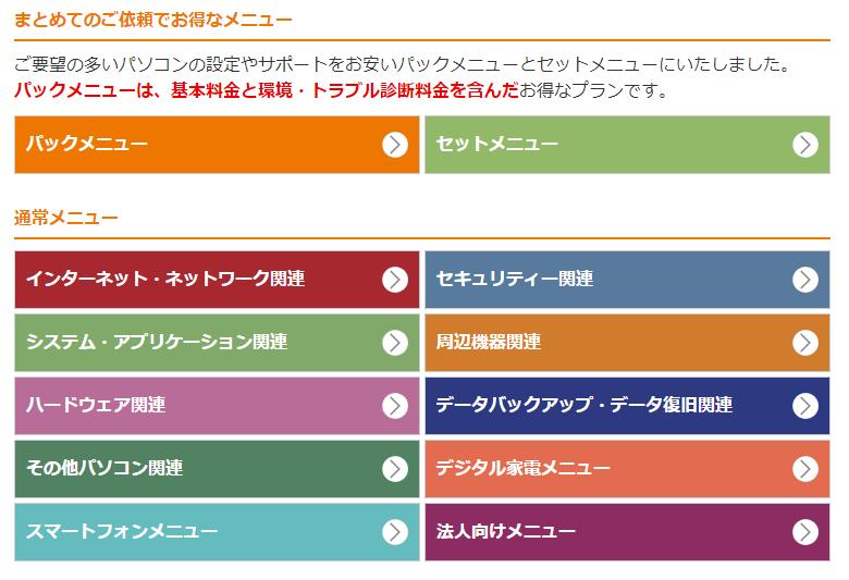 ドクター・ホームネット -ご依頼メニュー-