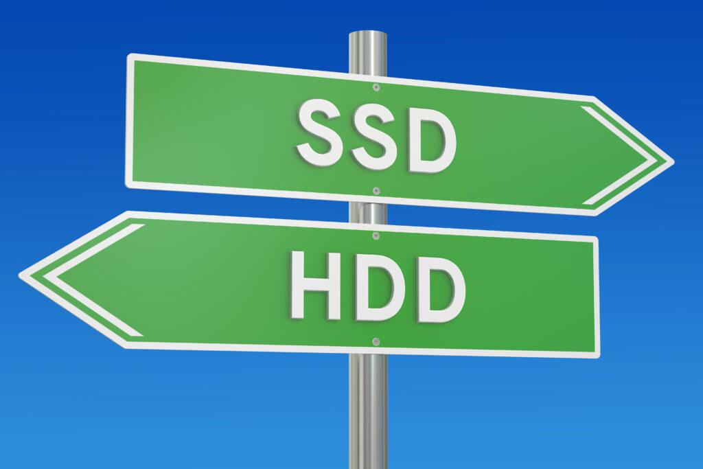 「HDD」と「SSD」どちらを選ぶべき?