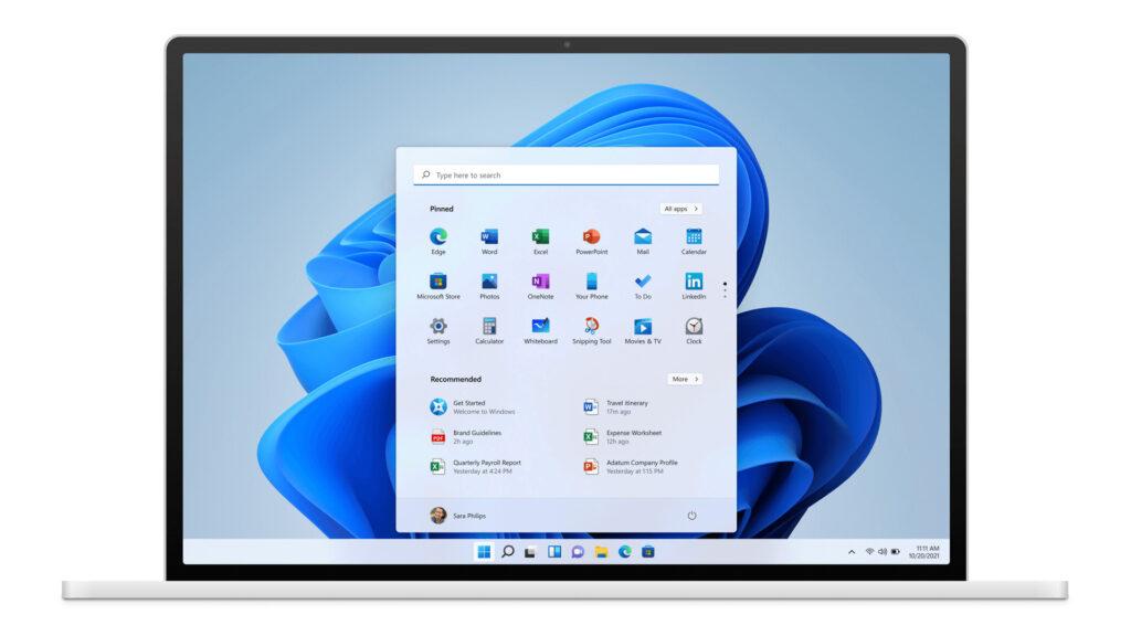 Windows11_画面デザイン